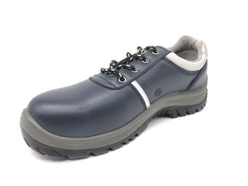 Cina Low Cut Stitch Down Construction Safety Shoes, Sepatu Safety Sport Bahan Kulit pemasok